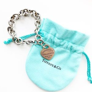 Tiffany Return To Heart Tag Charm Bracelet